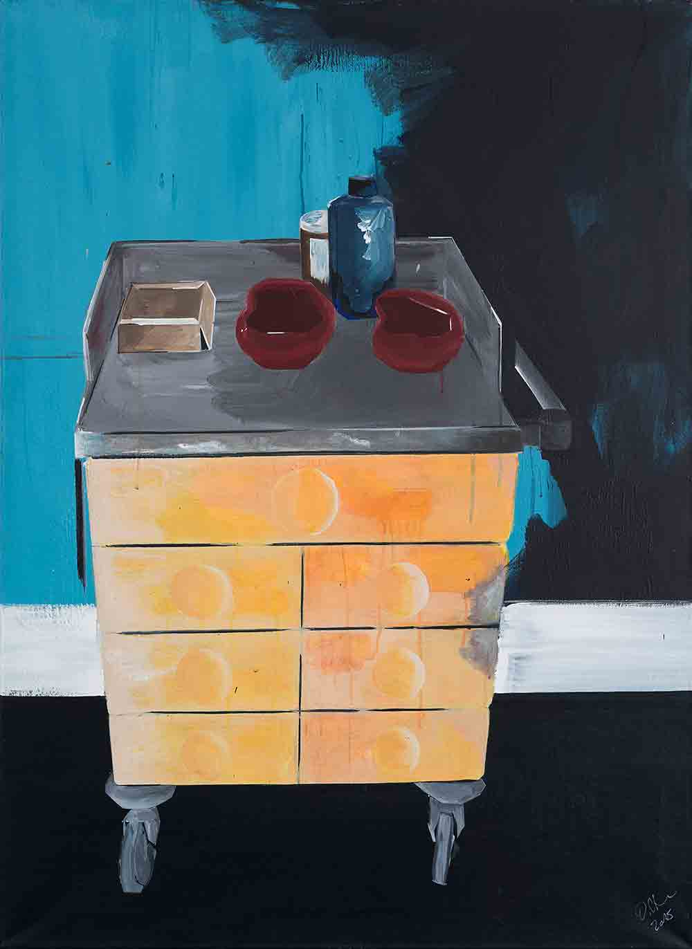 Painting_Endstadium_Dikla_Stern_Contemporary_Art
