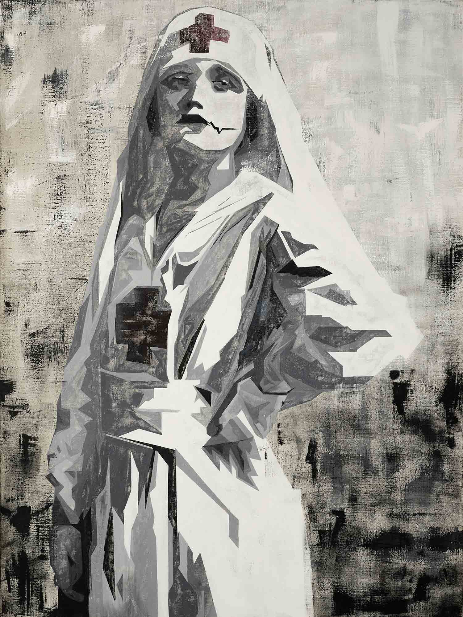 Painting_Nazibraut_DiklaStern_ContemporaryArt