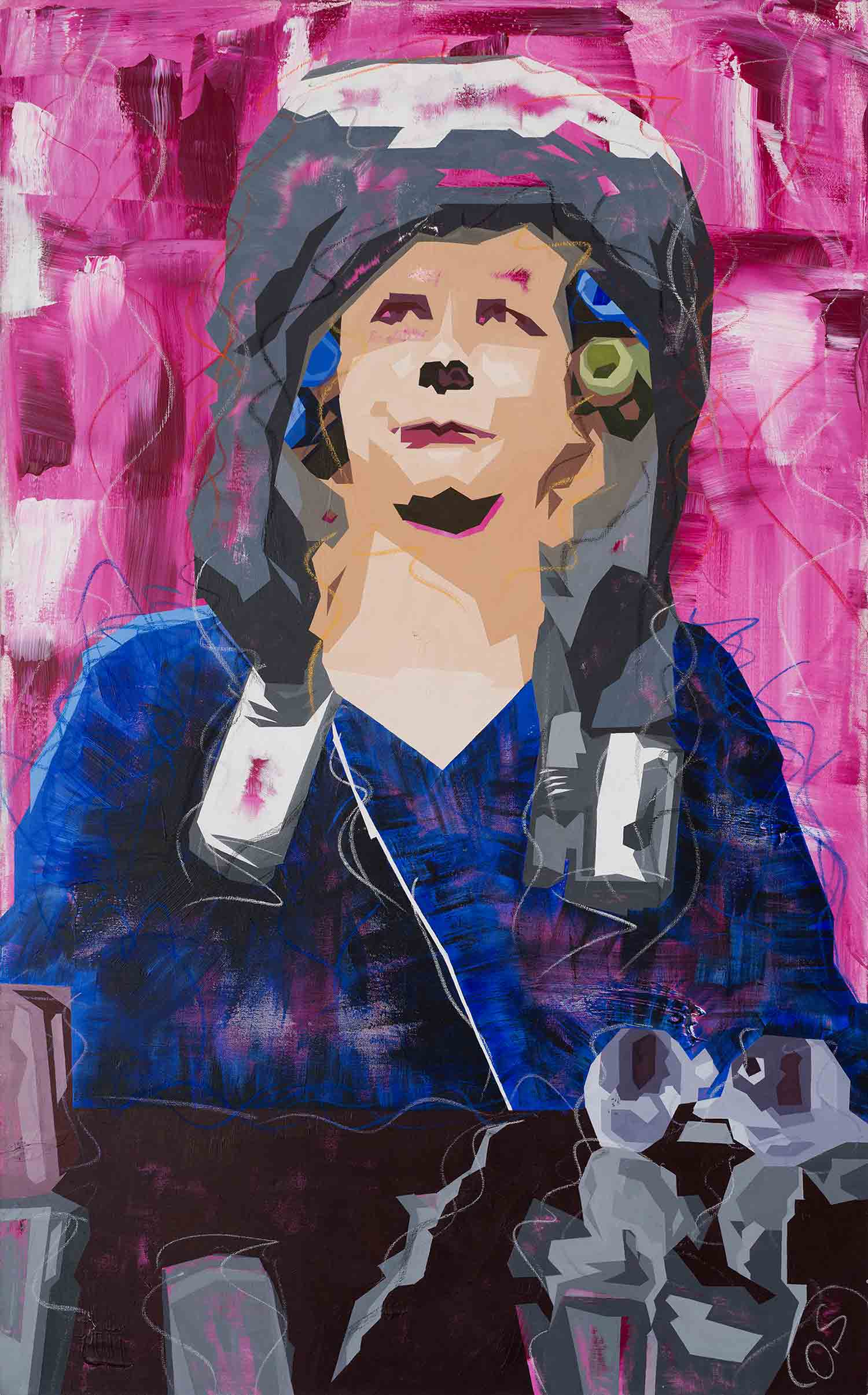 Paintings_Schoene_neue_Welt_Dikla_Stern_Contemporary_Art